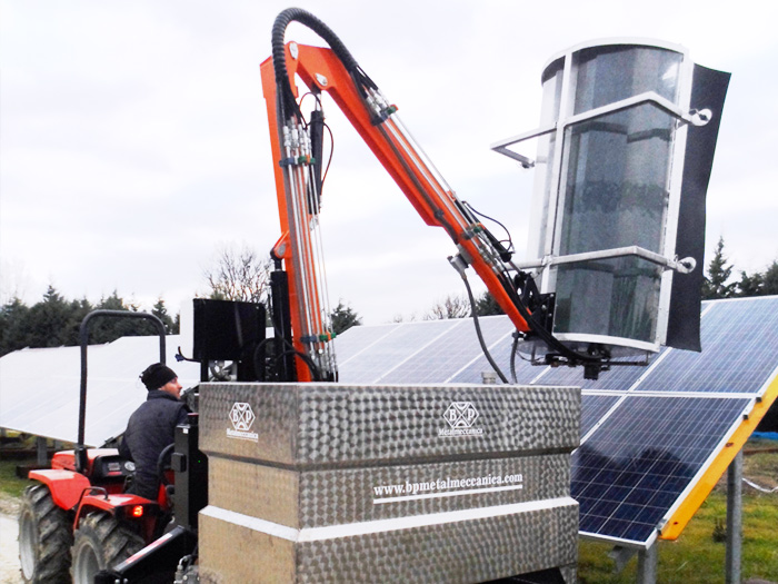 SOLAR CLEANER  F1750-T - Macchine per la pulizia e il lavaggio di pannelli fotovoltaici